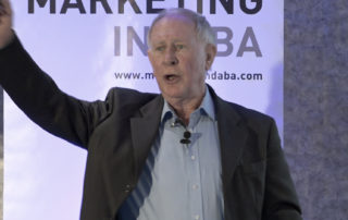 Ed Hatton speaks at the Marketing Indaba Johannesburg